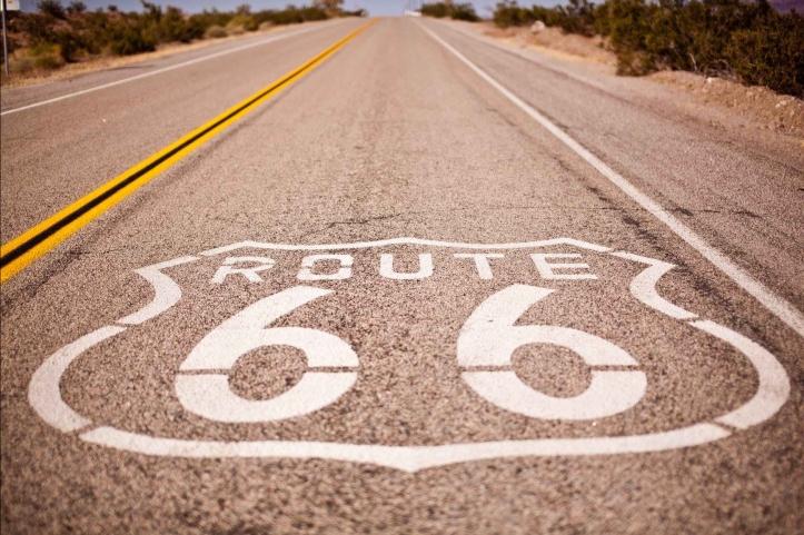 drive empty highway lane